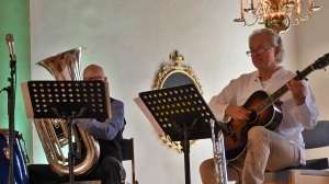 Bastuban och gitarren